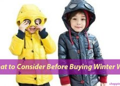 What to Consider Before Buying Winter Wear for Children